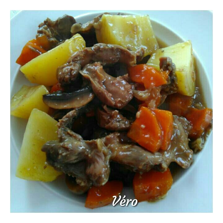 Ragoût de gésiers de volaille au cookeo 4 sp — Dans la cuisine des Wet Wet
